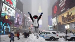 US East Coast Digs Out After Massive Blizzard