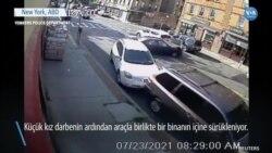 Polisin Küçük Çocuğu Araç Altından Kurtarma Anları