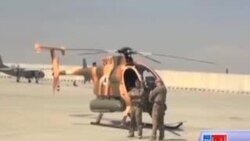 شش هلیکوپتر نظامی به وزارت دفاع ملی افغانستان سپرده شد