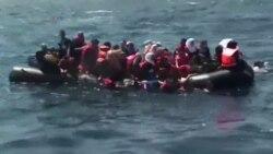 سفر پرمخاطره پناهجویان در دریای مدیترانه