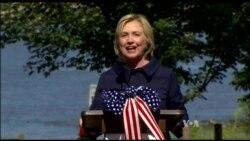 Clinton Campaign Reset Comes as Biden Contemplates Run