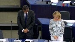 Avrupa Parlamentosu'nda Saygı Duruşu