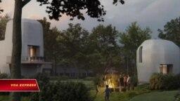 Thế giới sẽ sớm có lô nhà bê tông in 3D thương mại đầu tiên.