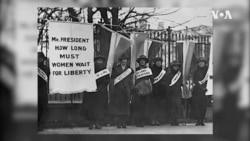 今年8月是美國婦女獲得選舉權100週年紀念