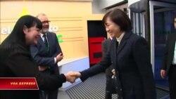 Đệ nhất phu nhân Nhật thăm tổ chức từ thiện Anh