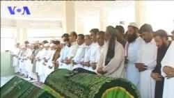 سندر غاړې غزاله جاوید جنازه