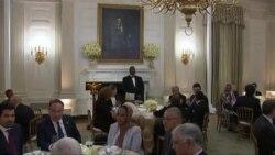 دونالدترمپ، رئیس جمهور ایالات متحده میزبان ضیافت افطار در قصرسفید بود.