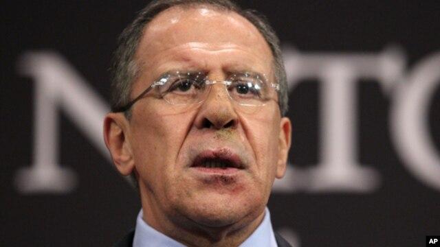 El canciller ruso, Sergei Lavrov, dijo que el régimen sirio ha dado pasos para mantener seguras las armas químicas.