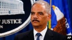 Jaksa Agung AS, Eric Holder hari Senin (19/5) mengumumkan tuntutan terhadap 5 pejabat militer China.
