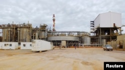 Une vue des installations de Tenke Fungurume Mining dans la province du Lualaba, RDC, le 29 janvier 2013.