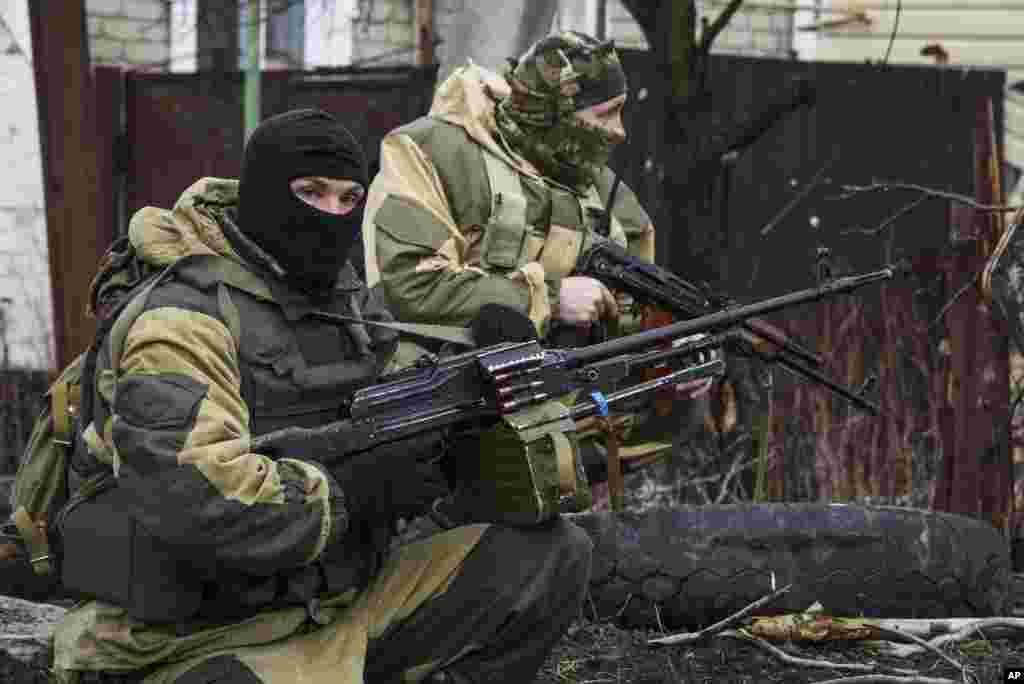 Донецьк. Сепаратисти