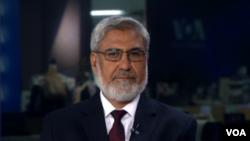 آقای درانی می گوید که نا امنی بر کارکرد آن وزارت تاثیر چندانی نداشته است