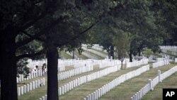 阿靈頓國家公墓(資料照片)