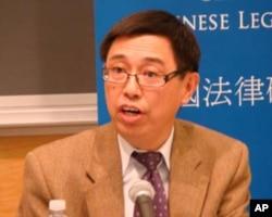 哥伦比亚大学政治学教授吕晓波