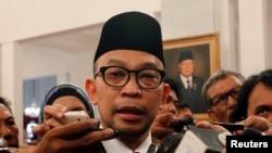 Menkeu RI, Muhammad Chatib Basri di Istana Presiden, 21 Mei 2013 (Foto: dok).