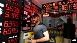 土耳其經濟危機波及全球市場。(資料圖片)