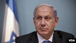 Perdana Menteri Israel Benjamin Netanyahu (foto: dok) mengatakan di siaran televisi, prioritasnya adalah melindungi kepentingan Israel.