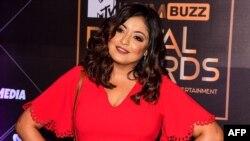 بالی ووڈ کی معروف اداکارہ تنوشری دتہ (فائل فوٹو)