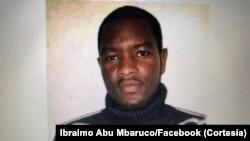 Ibraimo Mbaruco, jornalista moçambicano desparecido em Cabo Delgado