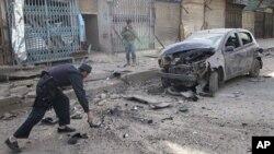 مقامی طور پر تیار کیے گئے بم یا آئی ای ڈیز خواتین اور بچوں کی ہلاکتوں کی بڑی وجہ رہیں۔ (فائل فوٹو)