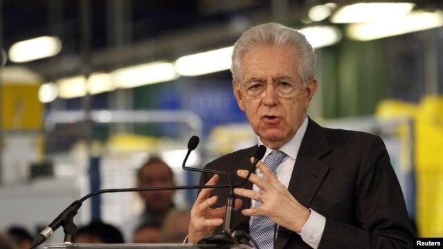 Monti permaneció 14 meses al frente del Ejecutivo.