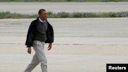 La gira del presidente Barack Obama coincidirá con el inicio del debate sobre control de armas en las cámaras legilslativas.