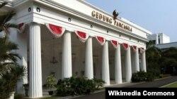 Gedung Pancasila, di kompleks Kementerian Luar Negeri RI, Jakarta. (Photo: Wikipedia)