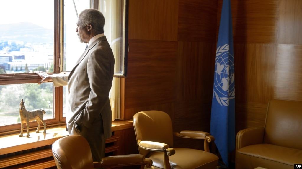 Reagime të udhëheqësve botërorë për vdekjen e Kofi Annanit