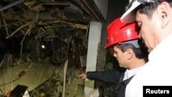 El fiscal explicó que la mayoría de las muertes se produjeron al desplomarse las estructuras superiores del edificio como resultado de la explosión en el sótano.