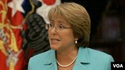 Se espera que Bachelet se reúna con el presidente de Perú y con Hillary Clinton.