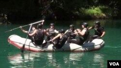 Kadeti Nacionalne garde Mejn na vojnim vežbama u Crnoj Gori