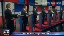 Republican Presidential Candidates Debate Without Front-runner Trump