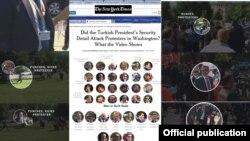 Nivîsa New York Times derbarê Êrşîa Zêrevanên Erdogan ya ser xwepêşanderan li Washington