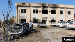 An attack on the police training center in the town of Zliten, Libya, on Jan. 7, 2015, left dozens dead.