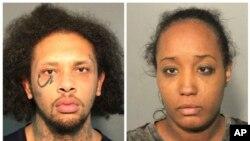 Ces photos fournies par le bureau du shérif du comté de Solano à Fairfield, en Californie, montre Jonathan Allen et son épouse, Ina Rogers, le 14 mai 2018.
