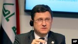 Rusya Enerji Bakanı Alexander Novak