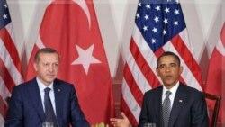 پرزیدنت اوباما به همراه رجب طیب اردوغان. نیویورک ۲۱ سپتامبر ۲۰۱۱
