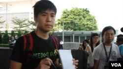 香港學生一連5日罷課 爭取真普選