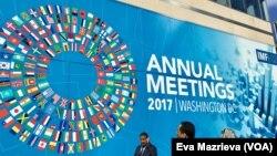 IMF annual meeting 2017 di Washington D.C.