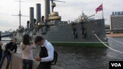 十月革命象徵,阿芙樂爾巡洋艦(美國之音白樺)