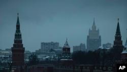 Здание российского Министерства иностранных дел в Москве