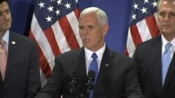 Mike Pence Accents Republican Unity