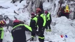 意大利雪崩數十失踪者中有4名兒童