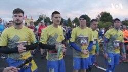 Забіг нескорених: українські ветерани взяли участь у Марафоні Морської піхоти США. Відео