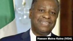 Ministan Harkokin Wajan Najeriya, Mr. Geoffrey Onyeama.