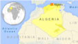 Map of Algeria