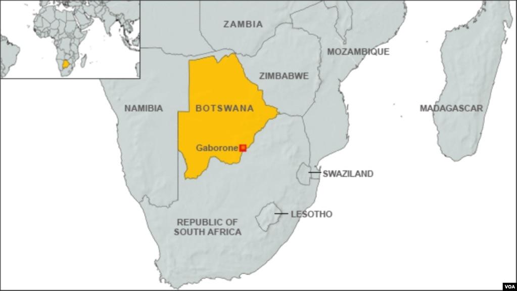 Map Of Africa Zimbabwe.Zimbabwe Teachers And Other Professionals Set To Lose Jobs In Botswana