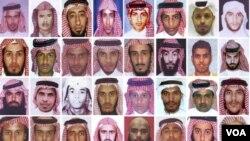Algunos de los miembros de al Qaeda que es esconden en Yemen, Afganistán y Pakistán.