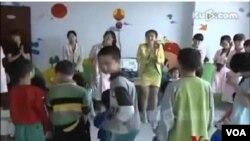 中國的殘疾兒童得不到受教育的資源。