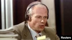 Janusz Walus lors de son audition par une Commission pour la vérité et la réconciliation à Pretoria, le 20 août 1997. (Reuters)